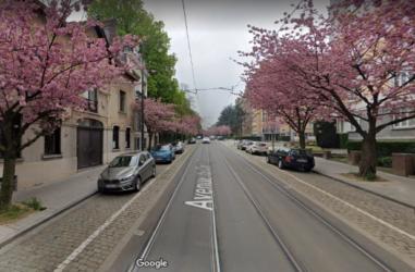La limitation de la vitesse des trams en vue des réduire les nuisances subies par les riverains de certaines voiries bruxelloises