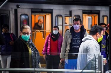 Port du masque dans les transports de la STIB